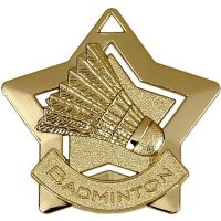 Mini Star Badminton Medal</br>AM720G